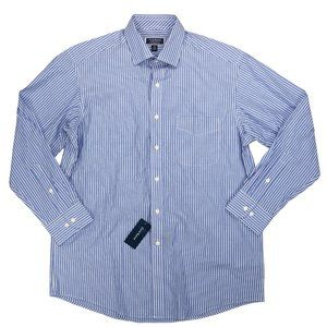 Club Room Striped Men's Button Down Shirt L NWT